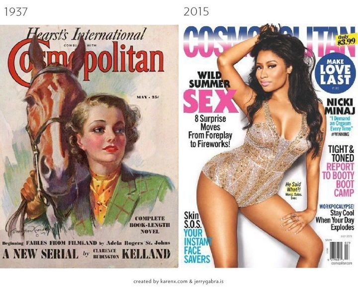 Women's Magazines Back Issues Two Original Cosmopolitans 1976/75