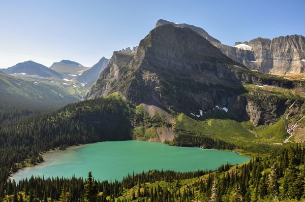 """Aview of<a href=""""http://www.hikinginglacier.com/grinnell-lake.htm"""">Glacier National Park</a>isMORE th"""