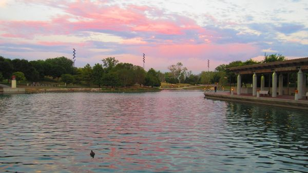 """<a href=""""http://parks.cityofomaha.org/component/content/article/57-rentals/298-heartland-park"""">Take a gondola ride over the l"""