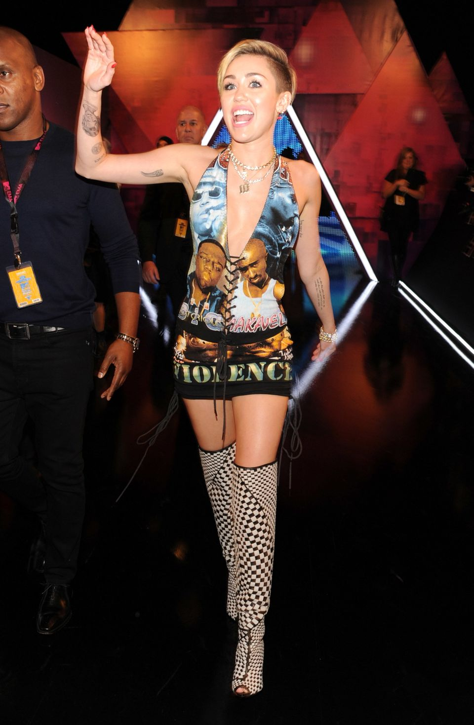 Miley Cyrus Aka The World S 15 Most Outrageous Outfits Huffpost Life
