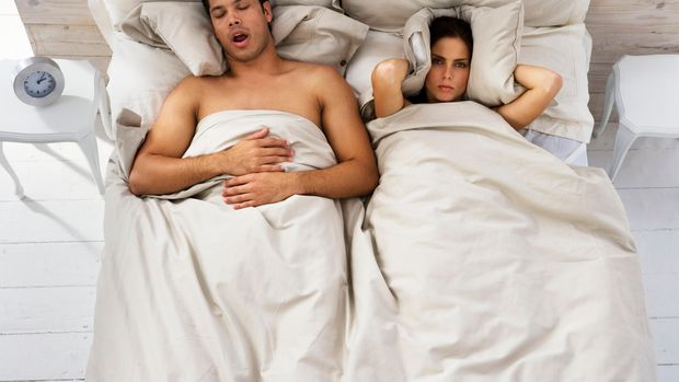 How to help a partner who snores.