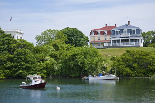 """<a href=""""http://www.blockislandinfo.com/"""">Bike rides, boating, 17 miles of beach</a>... you name it, this charming island's g"""