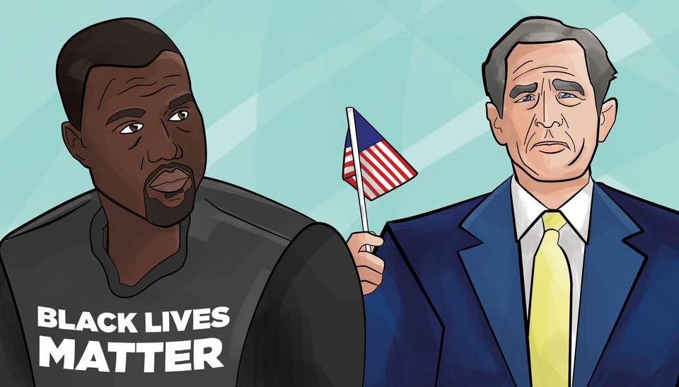 The Definitive History Of 'George Bush Doesn't Care About Black