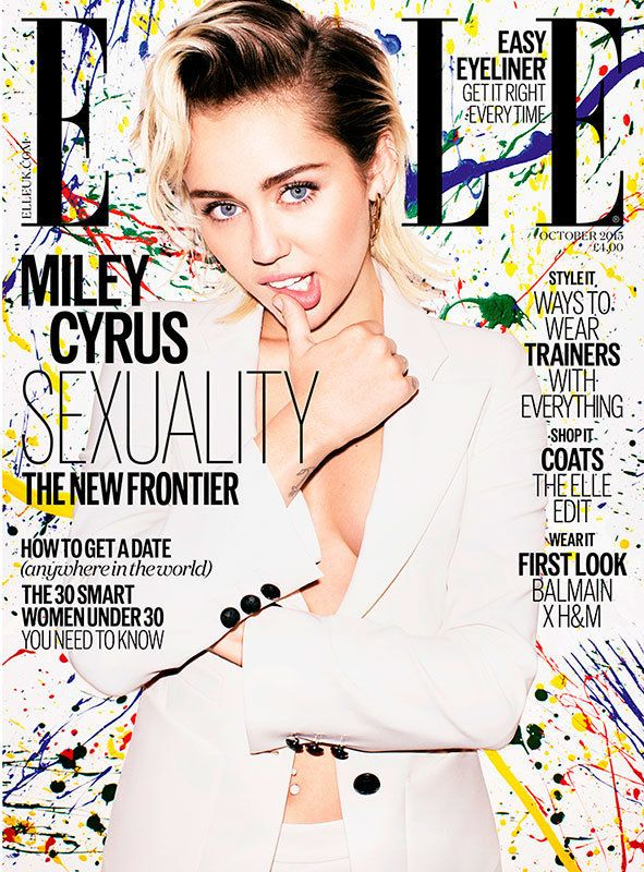 Miley Cyrus Comes Out As