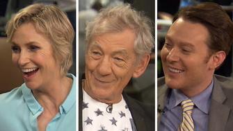 Jane Lynch, Ian McKellen and Clay Aiken on HuffPost Live