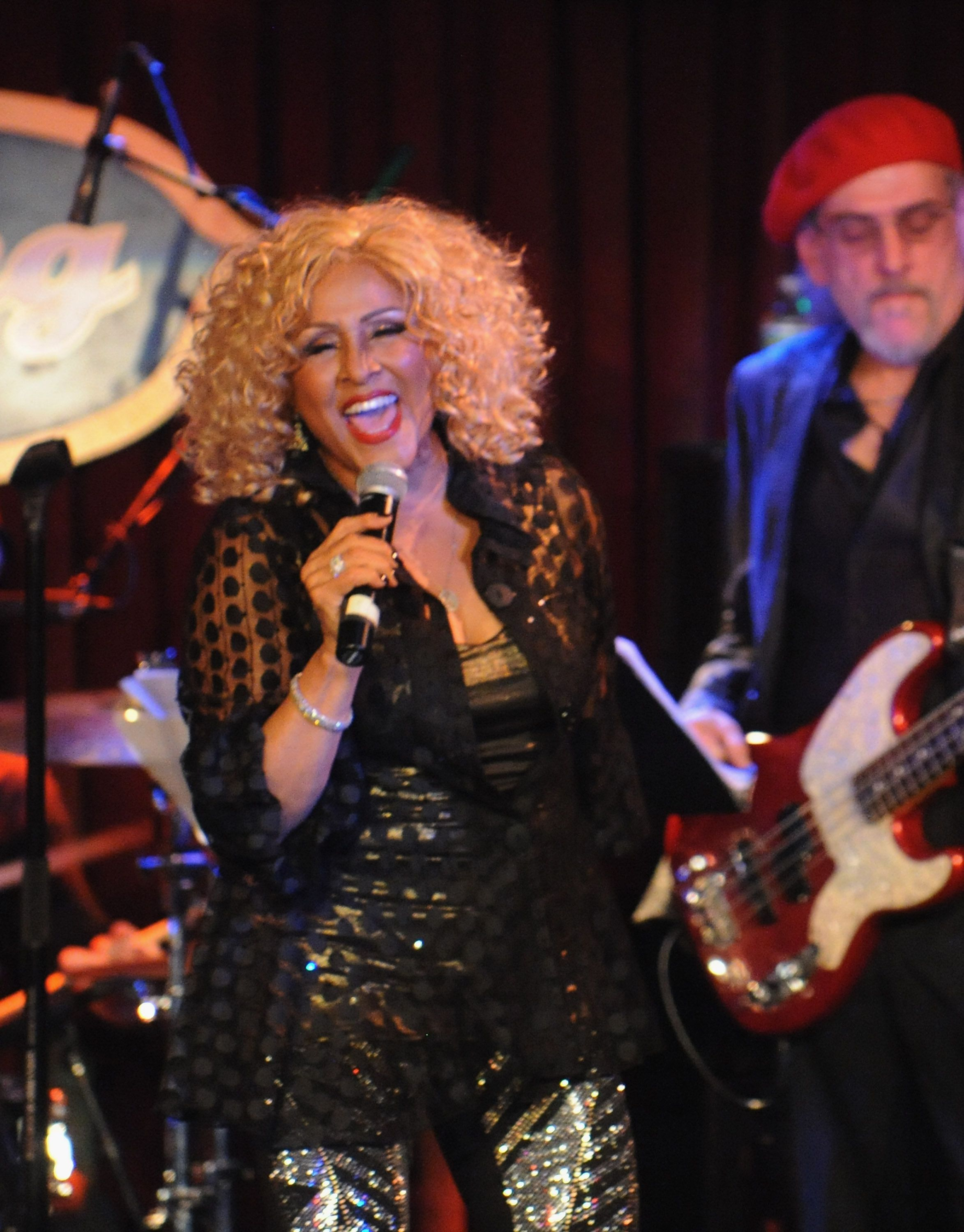 NEW YORK, NY - DECEMBER 19:  Darlene Love performs 'A Darlene Love Christmas' at B.B. King Blues Club & Grill on December 19, 2014 in New York City.  (Photo by Bobby Bank/WireImage)