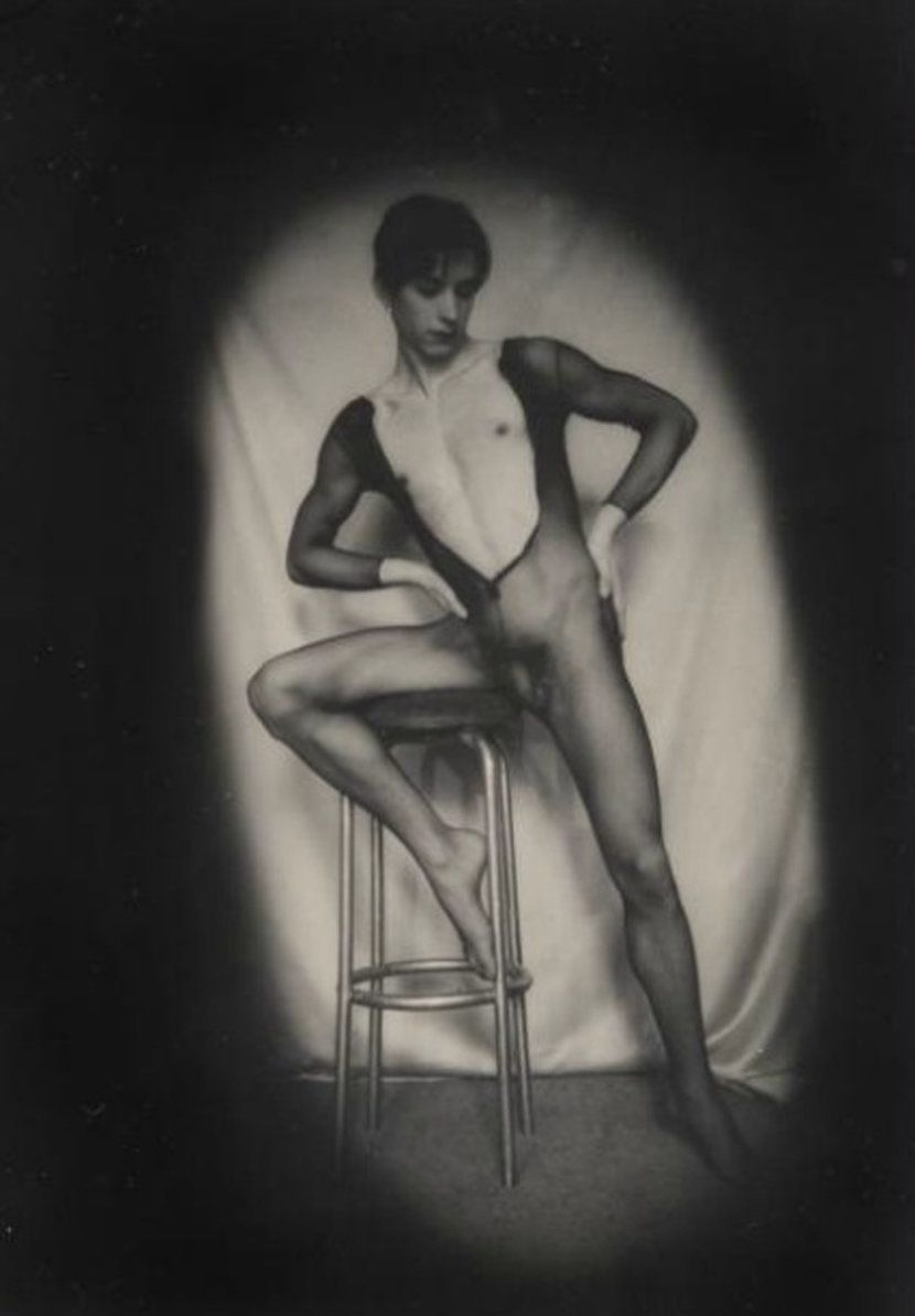 Portrait of Luciano Castelli, 1974 Vintage silver gelatin print 18 x 12.5 cm