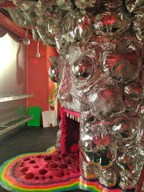 <span>Wayne Coyne The King's Mouth (detail) 2015 Sculpture/installation. Collection of the artist. Photo by John Lewis.</span