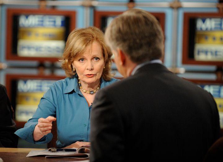 <p>Wall Street Journal columnist Peggy Noonan. </p>