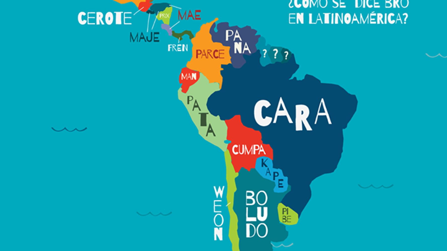 How You Say 'Bro' In Different Latin American Countries
