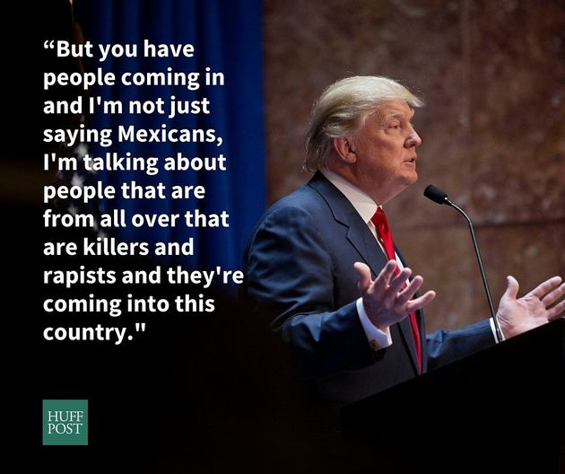 Outrageous Things Donald Trump Has Said About Latinos