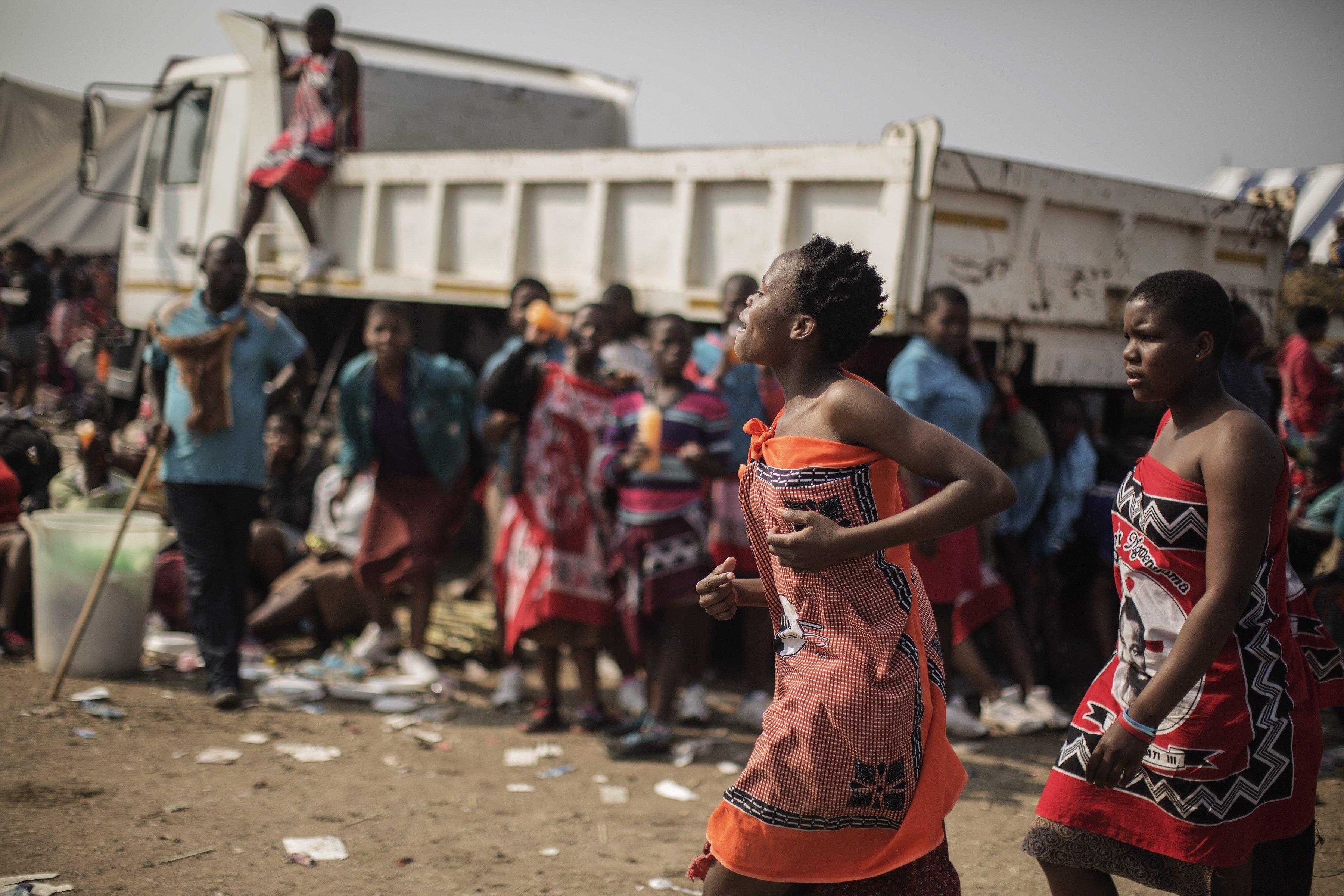 Pity, that Swaziland women reed dance commit error