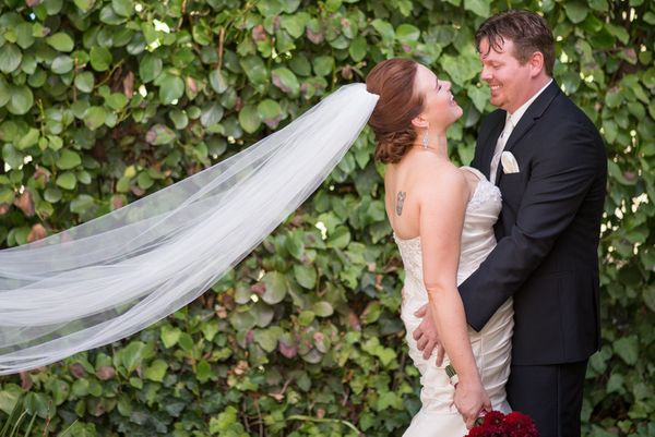 """""""Congratulations to Jessica and Roy on the beautiful ceremony and reception in Hillsborough, California!"""" - Lisa Robinson"""