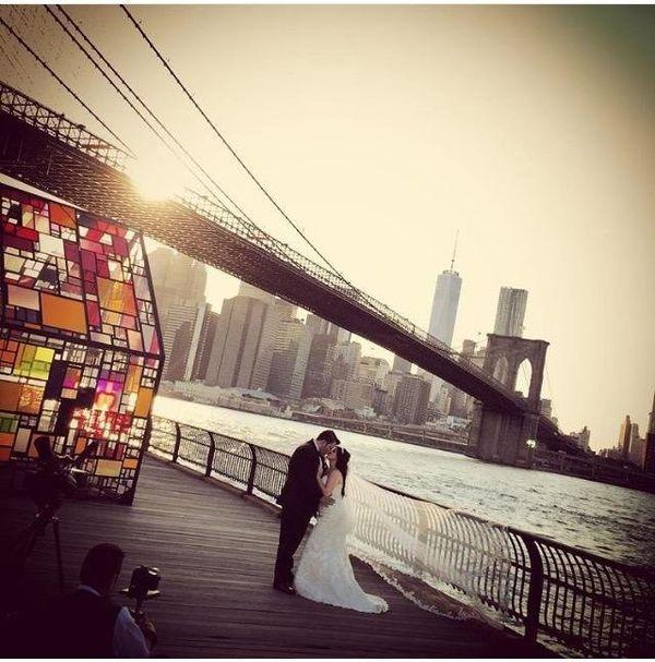 """Samantha and Joseph's Brooklyn, New York wedding."" - Kathie Cruz"