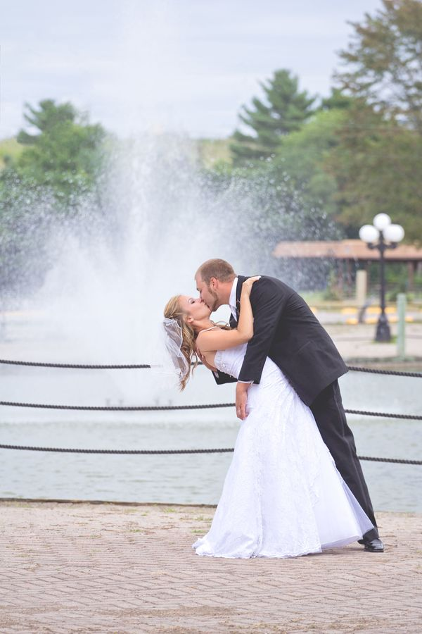"""""""Amanda and Brandon were married at Bingemans Conference Centre in Kitchener, Ontario."""" - Danielle Maes"""