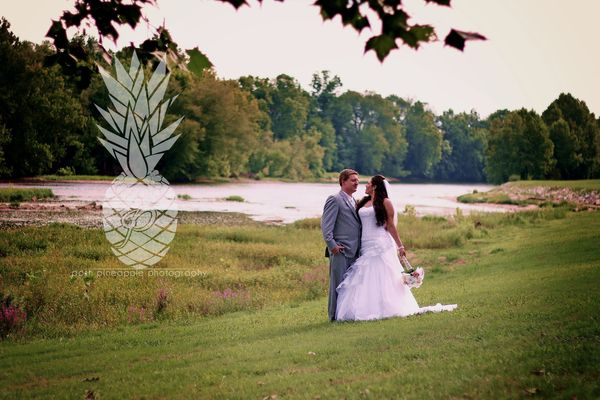 """""""Nicole and Shaun were wed last weekend at the gorgeous Nolichucky Vineyard in Russellville, Tennessee!"""" - Lena Kendrick Dean"""