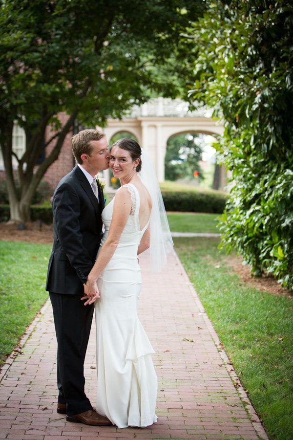 """Becky and Eoin were married at the beautiful Carolina Inn in Chapel Hill, North Carolina."" - Robin Lin"