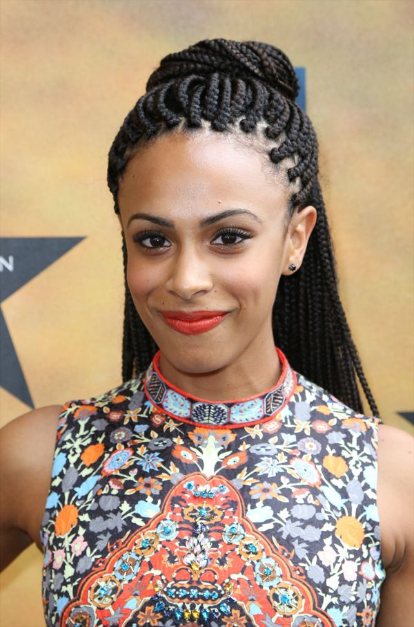 20 Badass Box Braids Hairstyles That You Can Wear Year - African American Natural Hairstyles For Medium Length Hair