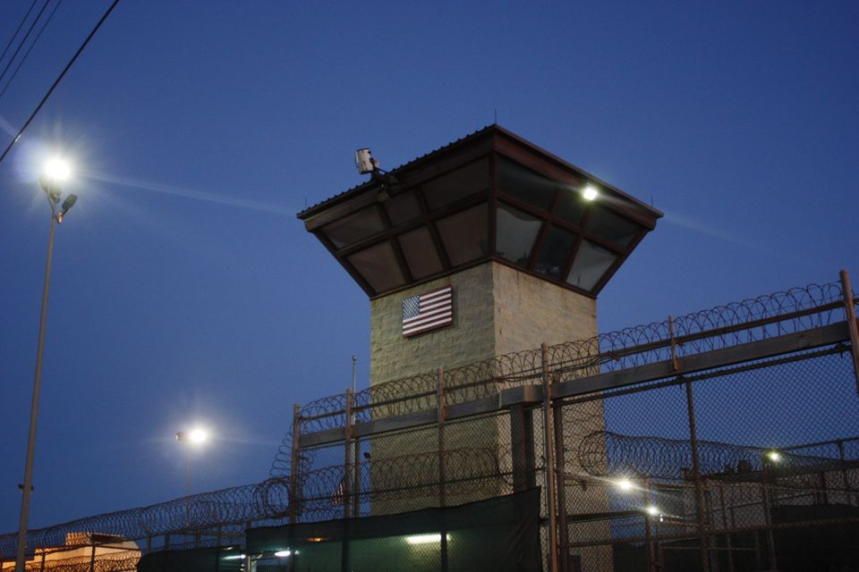 Located between Guantanamo's Camp Five and Camp Six.