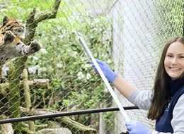 Meet The Woman In Charge Of Making Sure Zoo Animals Have Fun
