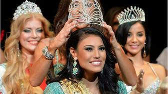 Ashley Burnham (Callingbull) wins the 2015 Mrs. Universe pageant.