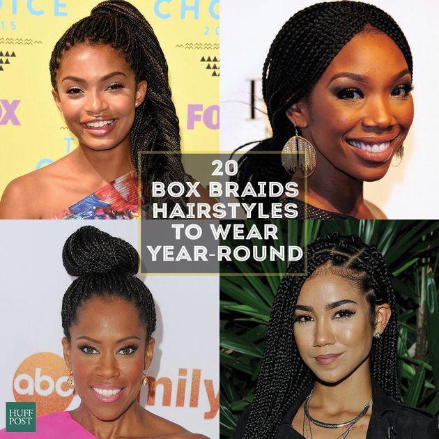 Fine 20 Badass Box Braids Hairstyles That You Can Wear Year Round The Short Hairstyles Gunalazisus