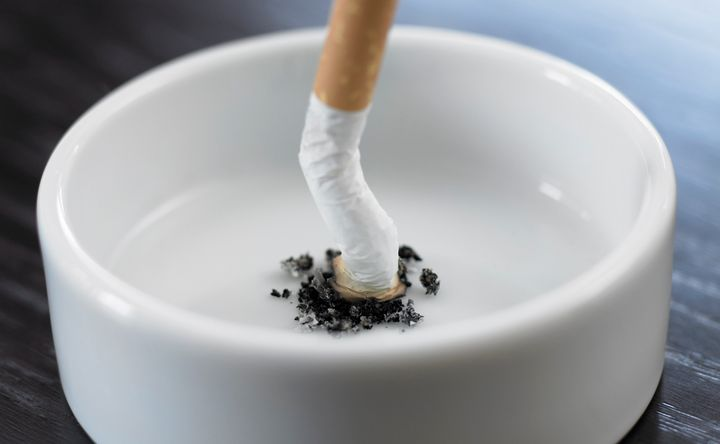 A new survey foundthe percentage of American adults who are using cigarettes on a regular basis dropped almost 2 percen