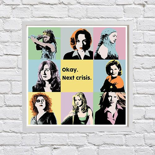 "<em>Buy it <a href=""https://www.etsy.com/listing/221625941/tv-heroines-number-1-warhol-inspired?ref=related-1"">here</a>.&nbsp"