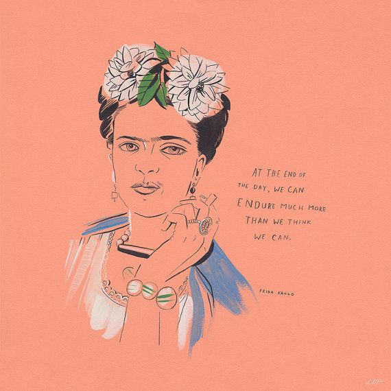 "<em>Buy it <a href=""https://www.etsy.com/listing/235892995/frida-kahlo-print-12-x-12?ga_order=most_relevant"">here</a>. </em>("