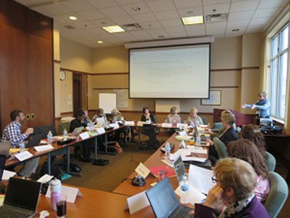 Researchers and administrators as part of ARC3 meet in Madison, Wisconsin.
