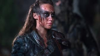 Alycia Debnam-Carey as Lexa on 'The 100.'