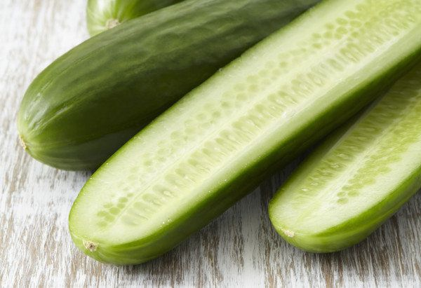 We admit that we sometimes steer clear of prepackaged cucumbers because we'd rather choose our own, touching and smelling the
