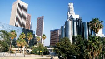 Downtown Los Angeles, Skyline - California, USA