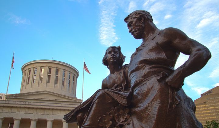 The legacy of William McKinley, honored with a statue in Columbus, Ohio, has received new attention withPresident Obama