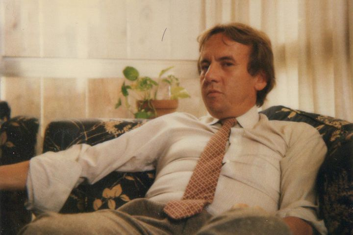 Carlos Toro at his Miami home in 1982, before he went to work for the DEA.