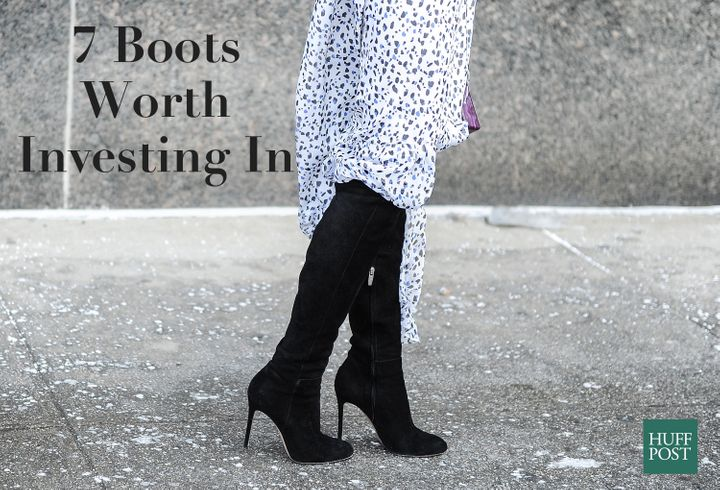 5ab083fc7 7 Classic Fall Boots That Are Worth The Investment | HuffPost Life