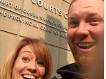 This Couple's Divorce Selfie Is Surprisingly Sweet