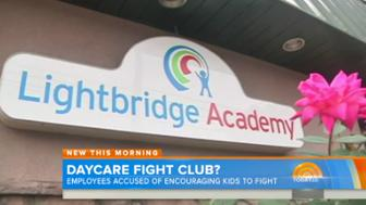 "Two workers were fired and face charges after allegedly staging a ""Fight Club"" at a New Jersey daycare."