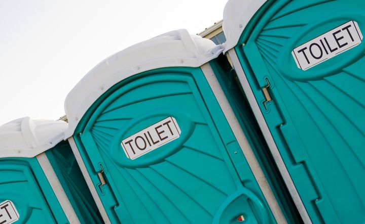 Woman 'Teleported' Across Fish Festival In Portable Toilet