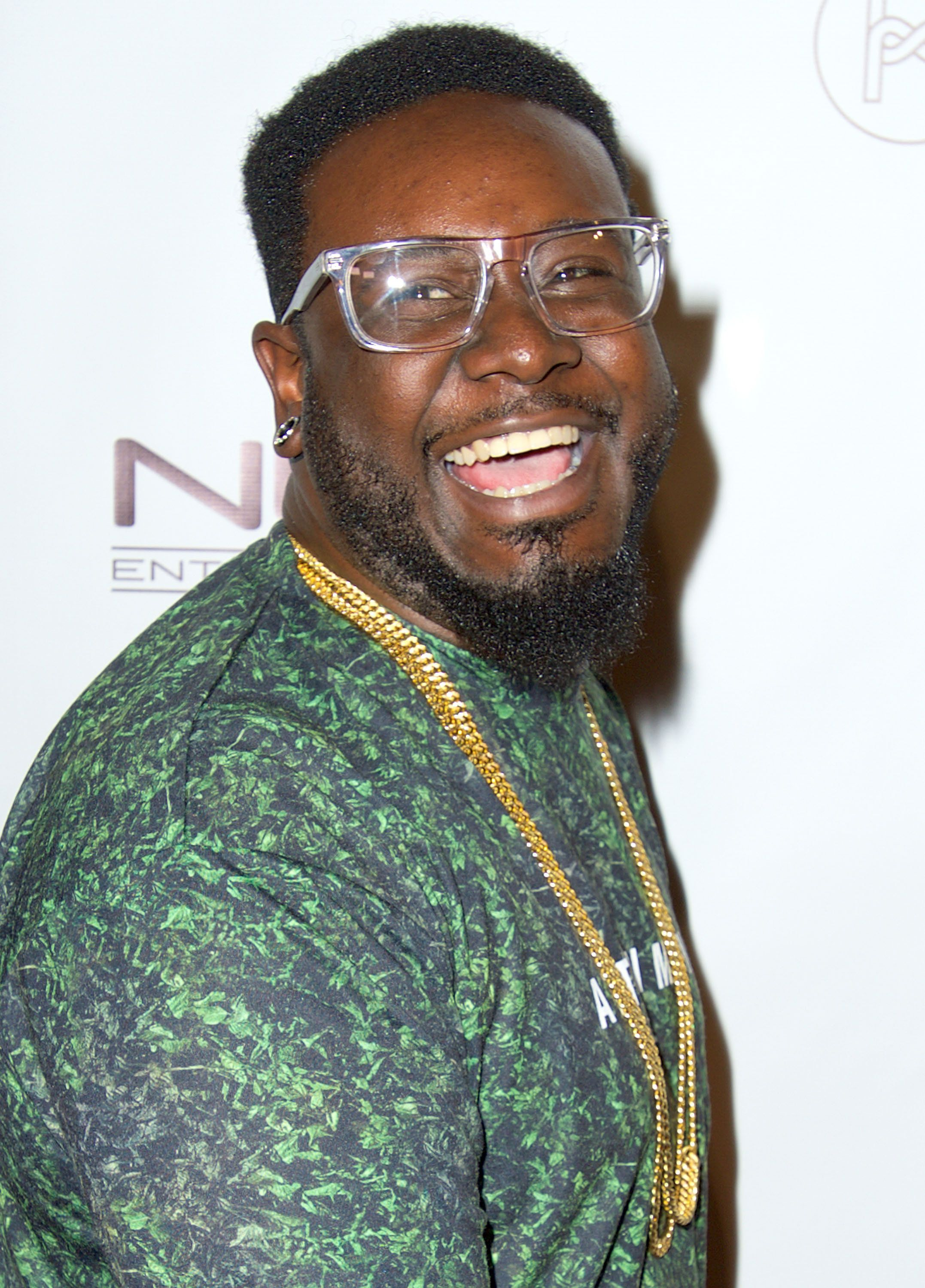 LOS ANGELES, CA - AUGUST 30:  T-Pain attends Diddy and Friends #FINNAGETLOOSE MTV VMA After Party at SupperClub Los Angeles on August 30, 2015 in Los Angeles, California.  (Photo by Unique Nicole/FilmMagic)