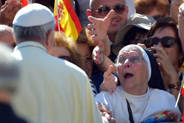 """Under Francis' tenure, two sweeping Vatican <a href=""""http://www.pbs.org/newshour/bb/pope-francis-vatican-changes-tone-toward-"""