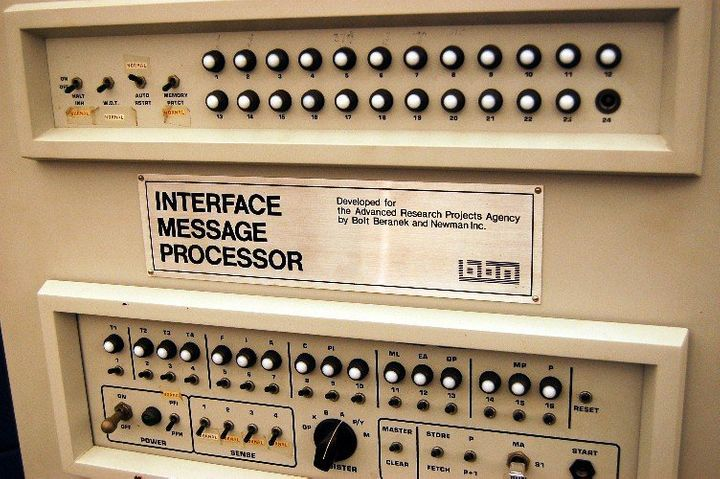 ARPANET's first message processor.