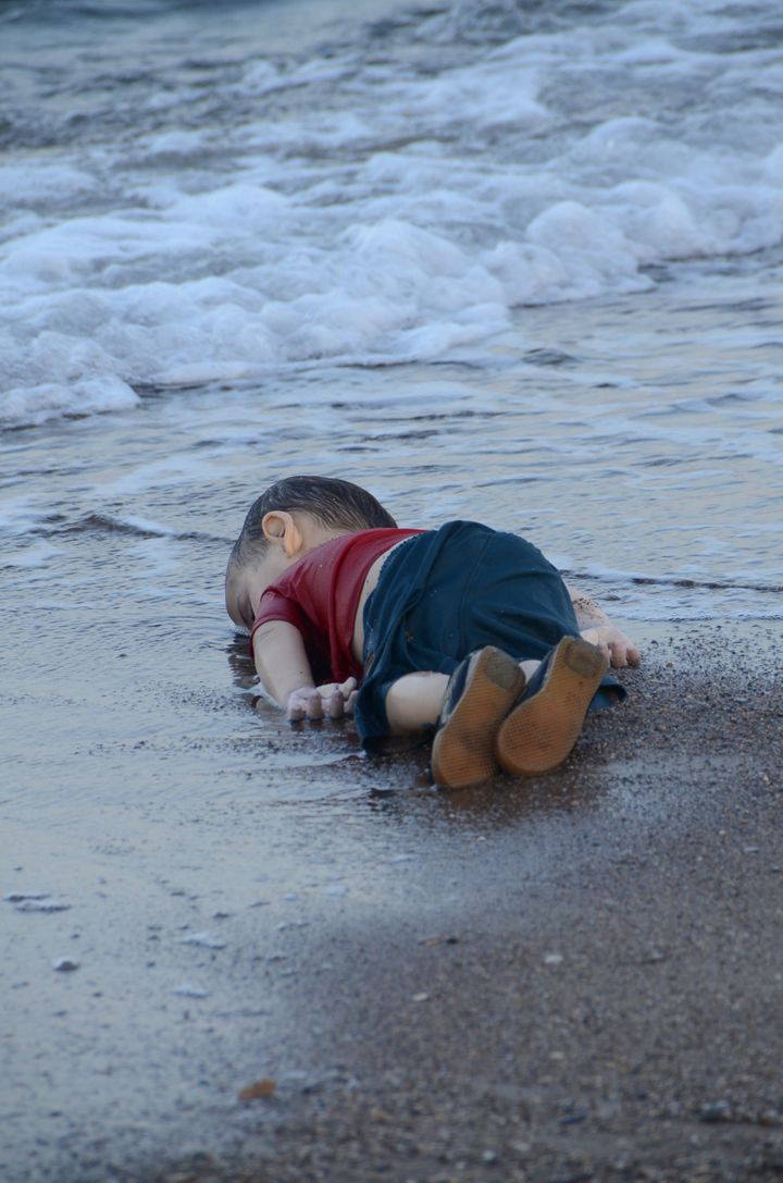 Alan Kurdi, a 3-year-old Syrian migrant, drowned in September along with his brother and mother while trying to reach Gr
