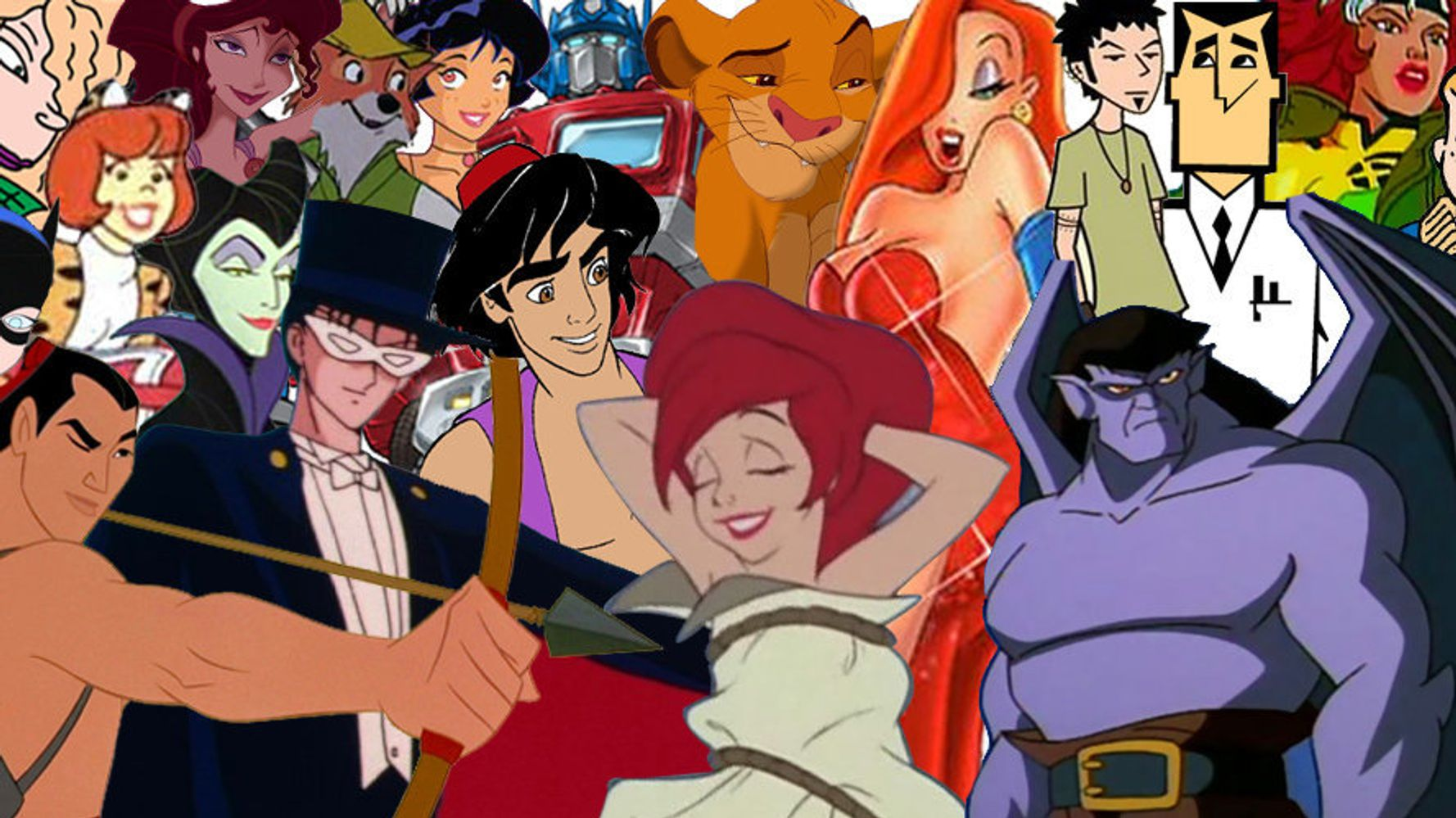 27 Cartoon Characters Who Gave Us The Hots As Kids Huffpost