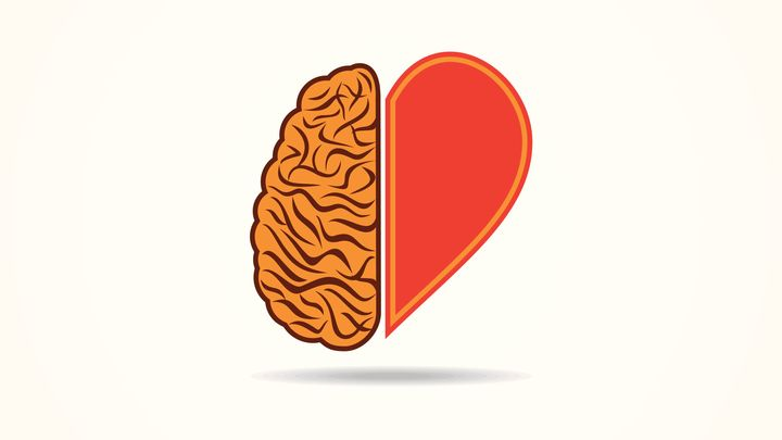 Do you think using your heart or your head heres how to tell graphicsdunia4you via getty images ccuart Images