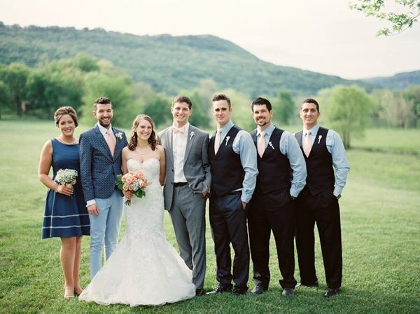 14 Mixed Gender Wedding Parties That Beautifully Bucked