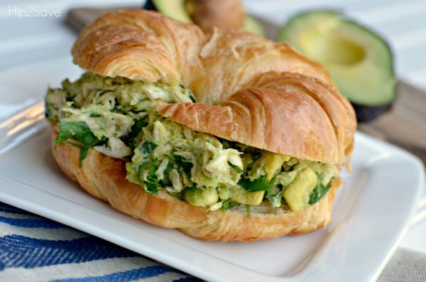 """<strong>Get the <a href=""""http://hip2save.com/2014/07/11/avocado-chicken-salad-only-3-ingredients/"""">Avocado Chicken Salad reci"""
