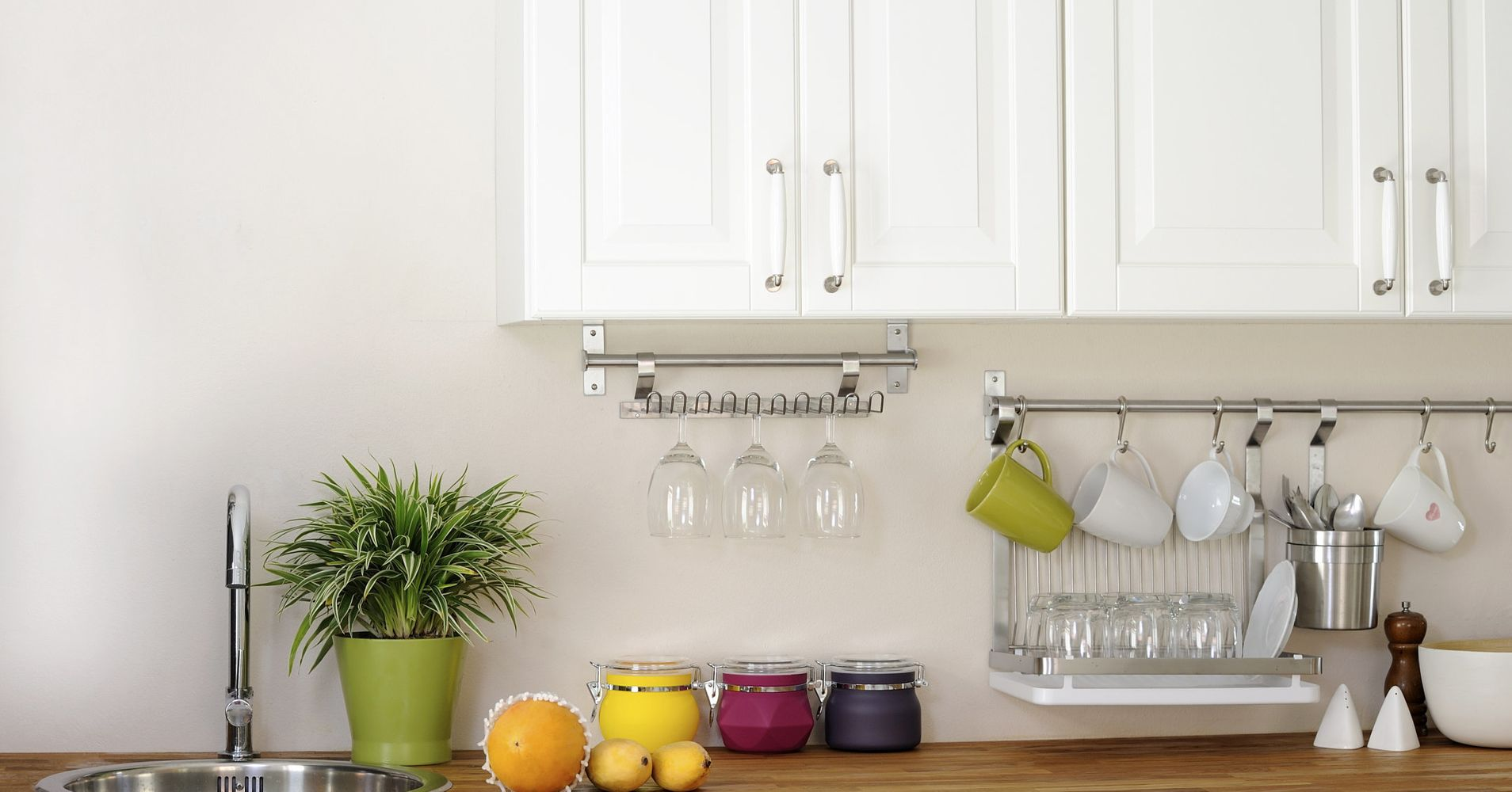 How To Avoid Kitchen Counter Clutter Without Throwing A Single Thing ...