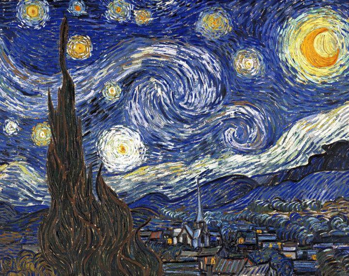 """Vincent van Gogh's """"Starry Night."""""""