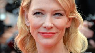 CANNES, FRANCE - MAY 19:  Cate Blanchett attends the 'Sicario' premiere during the 68th annual Cannes Film Festival on May 19, 2015 in Cannes, France.  (Photo by Anthony Harvey/FilmMagic,)